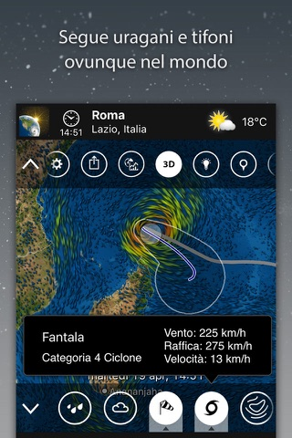 MeteoEarth screenshot 3
