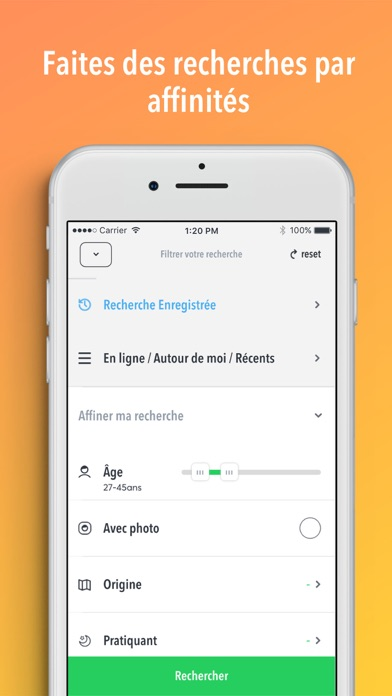 Site rencontre app store