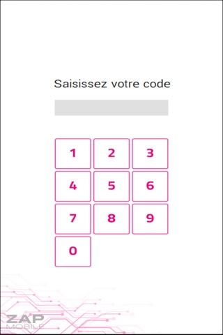 ZAP Mobile screenshot 1