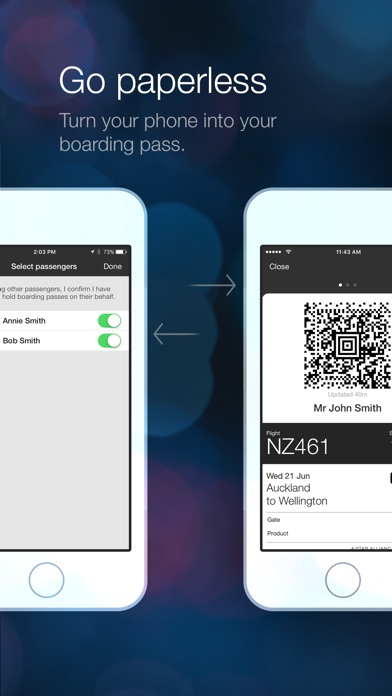 how to use the air new zealand app