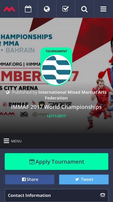 Screenshot of Mynextmatch App
