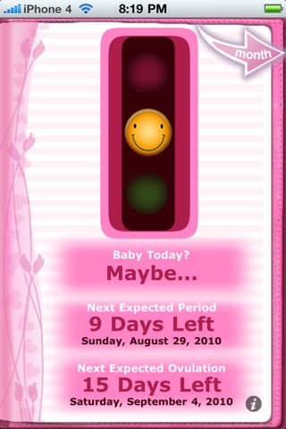 Maybe Baby™ Period & Fertility screenshot 3