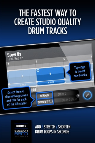 SessionBand Drums 1 screenshot 2