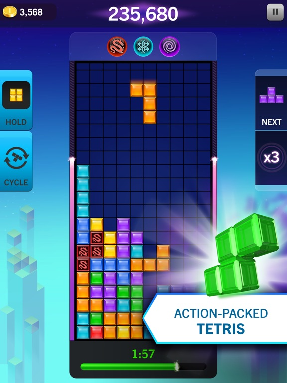 Screenshot #1 for Tetris® Blitz