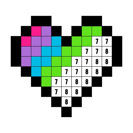 Color by Number: Coloring Book app for ipad