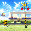 yogreen - 脱出ゲーム 電車のある道 アートワーク