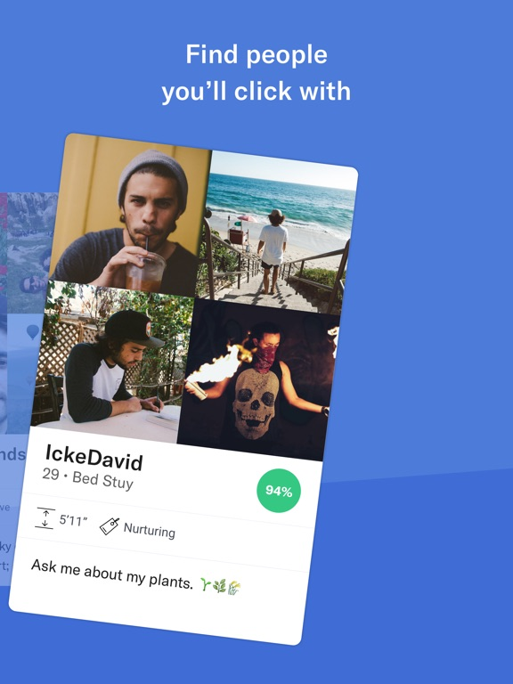 OkCupid Dating Screenshots