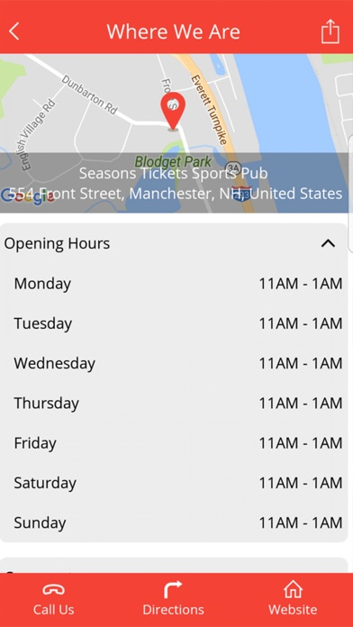 Seasons Tickets NH screenshot 2