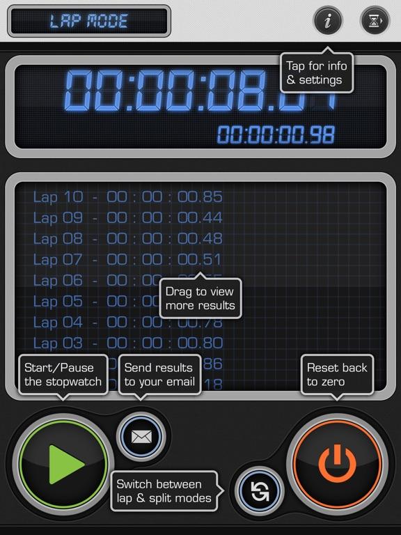 Screenshot #5 pour Stopwatch Timer: Gym, Workout