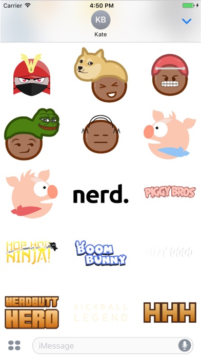 Nerd Agency Stickers Screenshot 4