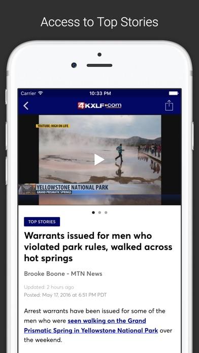 KXLF Montana's News LeaderScreenshot of 2