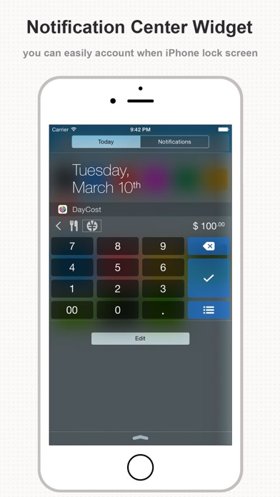 Screenshot #6 for DayCost Pro - Personal Finance