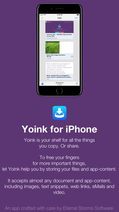 Yoink - Improved Drag and Drop Screenshot