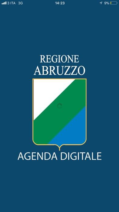 Screenshot of Agenda Digitale1