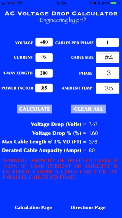 Screenshot for ACVDCalc in United States App Store