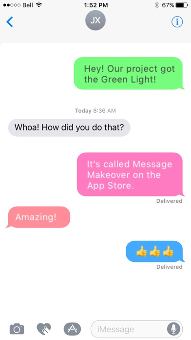 download Message Makeover - Colorful Text Message Bubbles apps 2