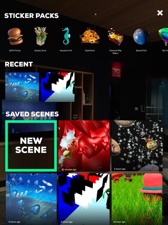 GIPHY World: AR GIFs+Stickers Screenshot