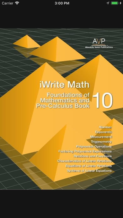 iwrite math pre calculus 11 textbook pdf