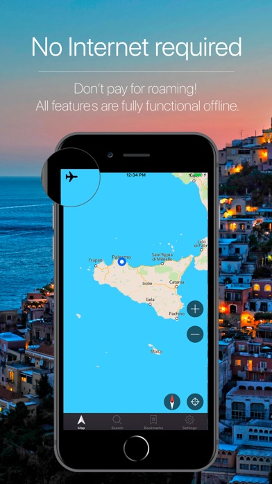 Screenshot for Sicily, Italy Navigation in Venezuela App Store