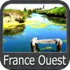 France Ouest GPS cartes nautiques de pêche
