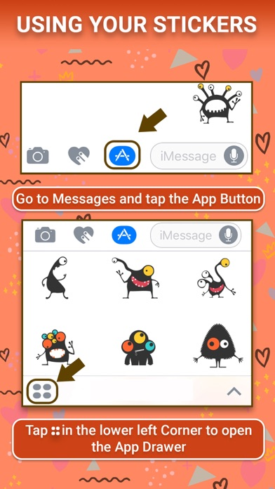 download Cute Monster Animated Stickers apps 1
