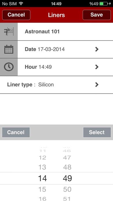 Screenshot of Lely T4C InHerd - System5