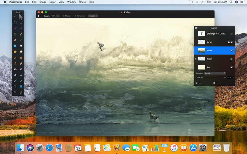 Pixelmator Screenshot
