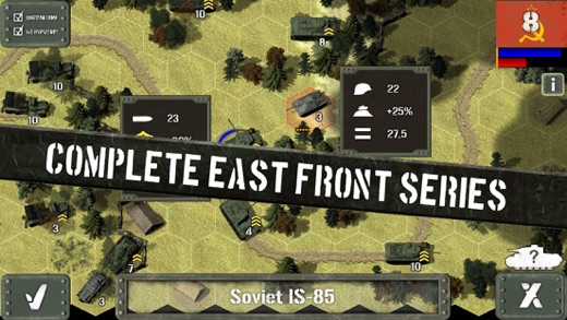 Tank Battle: East Front Screenshots