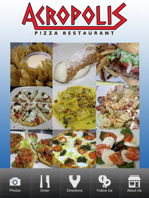 App shopper acropolis pizza food drink for Amante italian cuisine deerfield beach