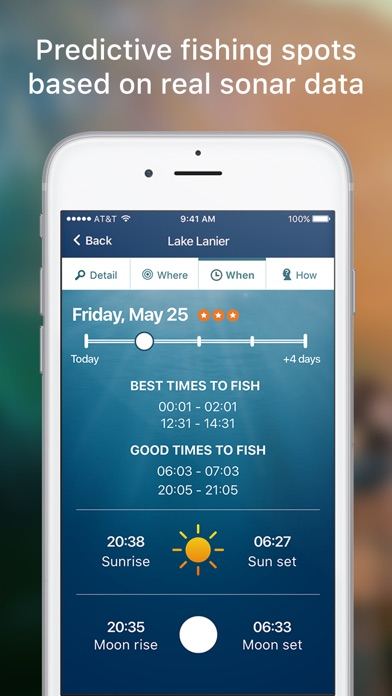 Netfish fishing forecast app app download android apk for Fishing spots app