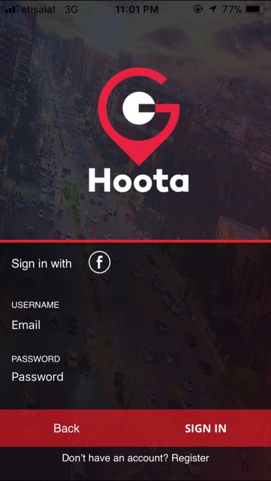 GoHoota  Screenshot