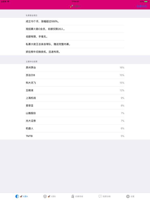 私募内参(火箭龙头) for 大智慧