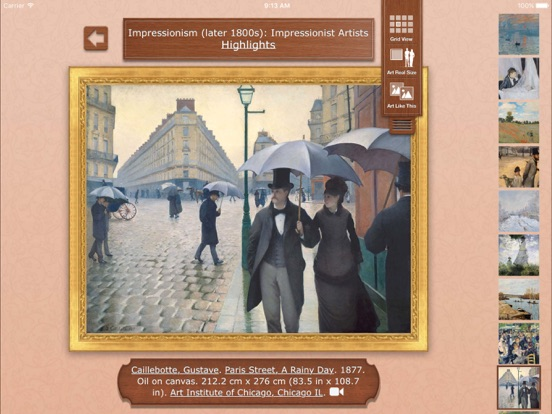 Art Authority for iPad Screenshots