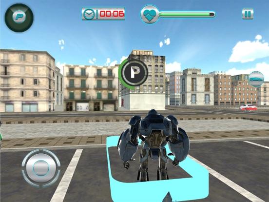 Airplane Robot Car Transporter screenshot 7