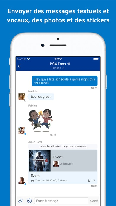 download PlayStation Messages apps 0