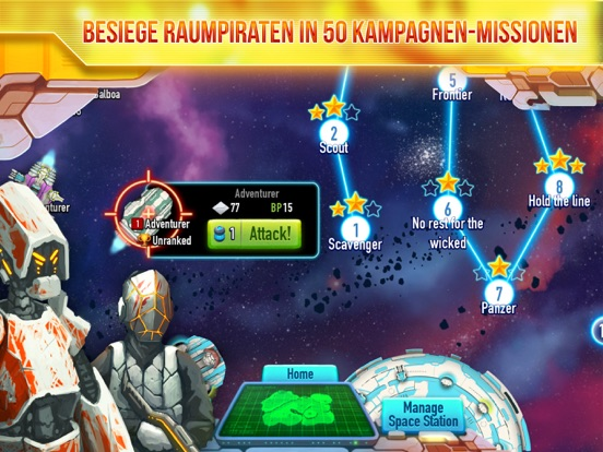 Screenshot 4 Lunar Battle