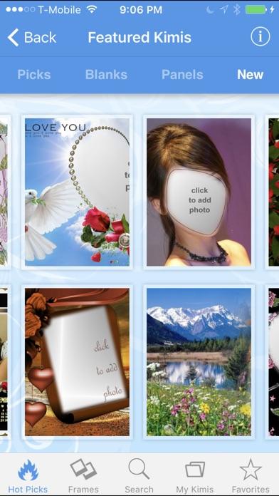 imikimi Photo Frames & FX Screenshots