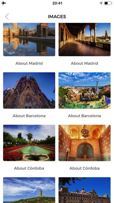 Espagne Guide de VoyageCapture d'écran de 3