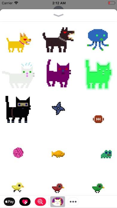 Pixel Cat Stickers Screenshot 3