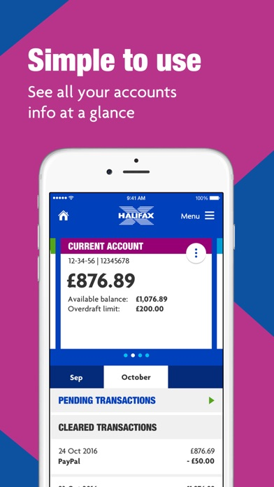Halifax Mobile BankingScreenshot of 2
