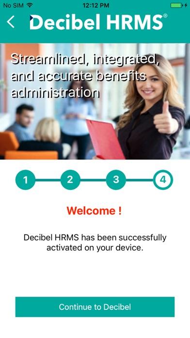 Decibel HRMS screenshot 3