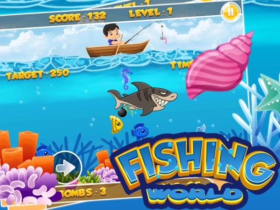 App shopper fishing world game gold miner underwater for Fish world game