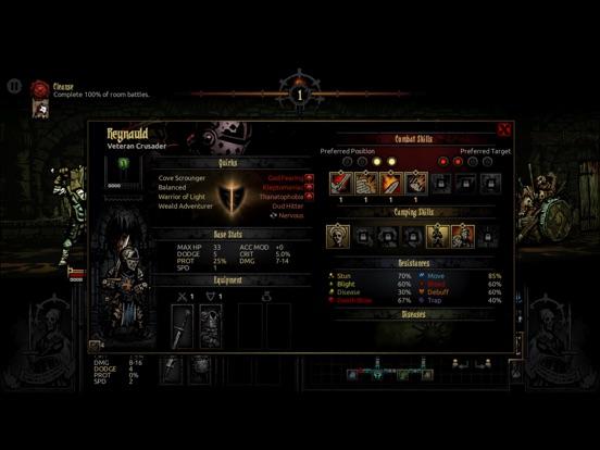 Darkest Dungeon: Tablet Edition Screenshots