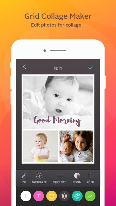 Instant Collage - photo & picture collage maker Screenshots