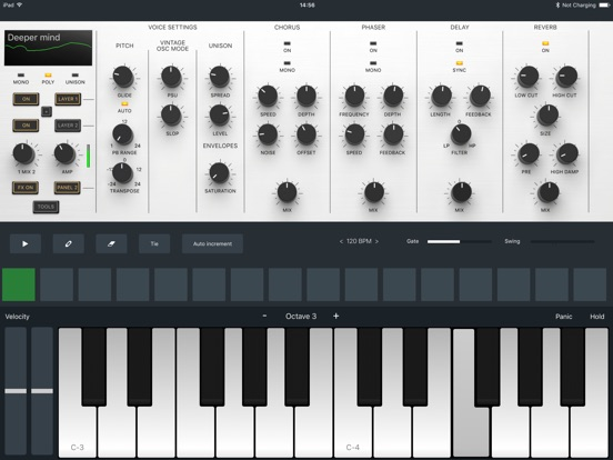 Zeeon synth Screenshots