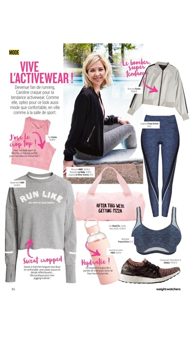 Weight Watchers Magazine France review screenshots