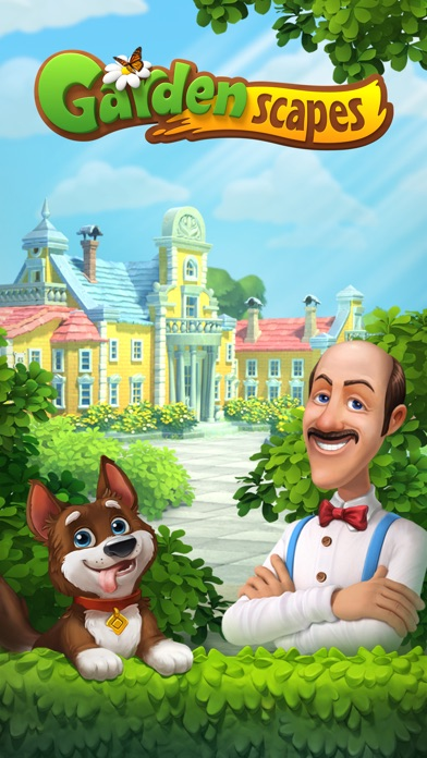 download Gardenscapes appstore review