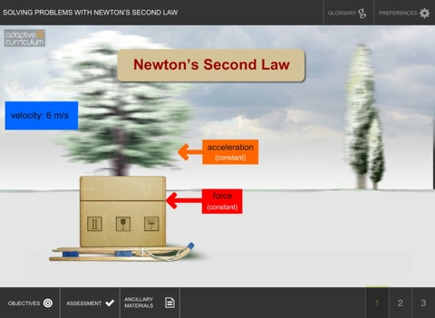 Solve with Newton's Second Law screenshot 1