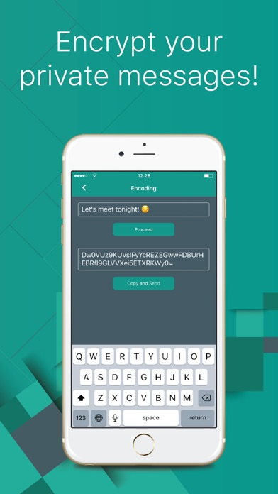 ChatLocker: Secure text vault Screenshot