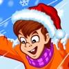 Xtreme Катание на санях игры-Crazy Безумный Fast Speed   Winter Sport Snow Hills Racing Game огромная для мальчиков, девочек и всей семьи-сенсорным IPhone,IPad и док-
